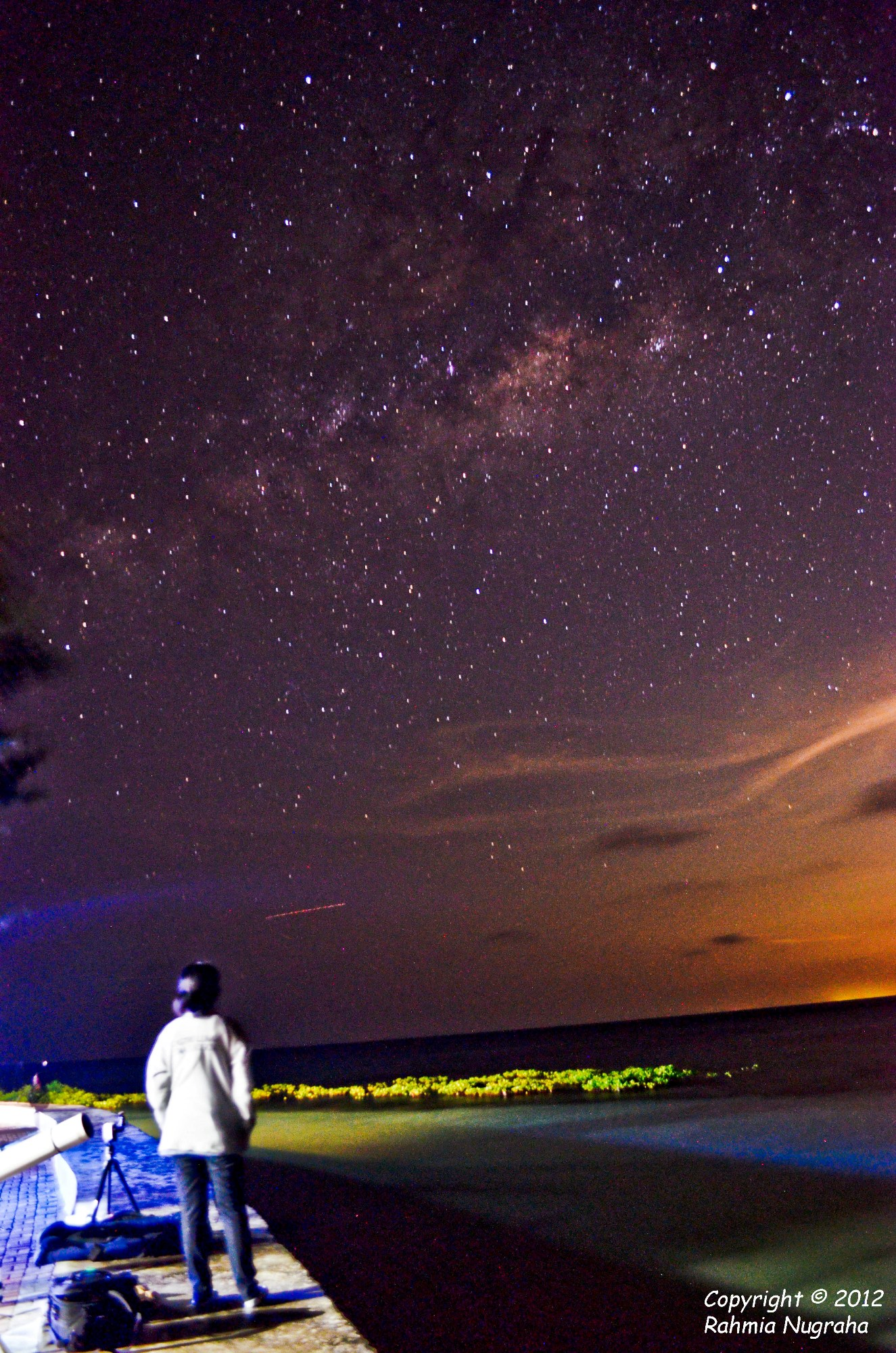 Gazing the Milky Way