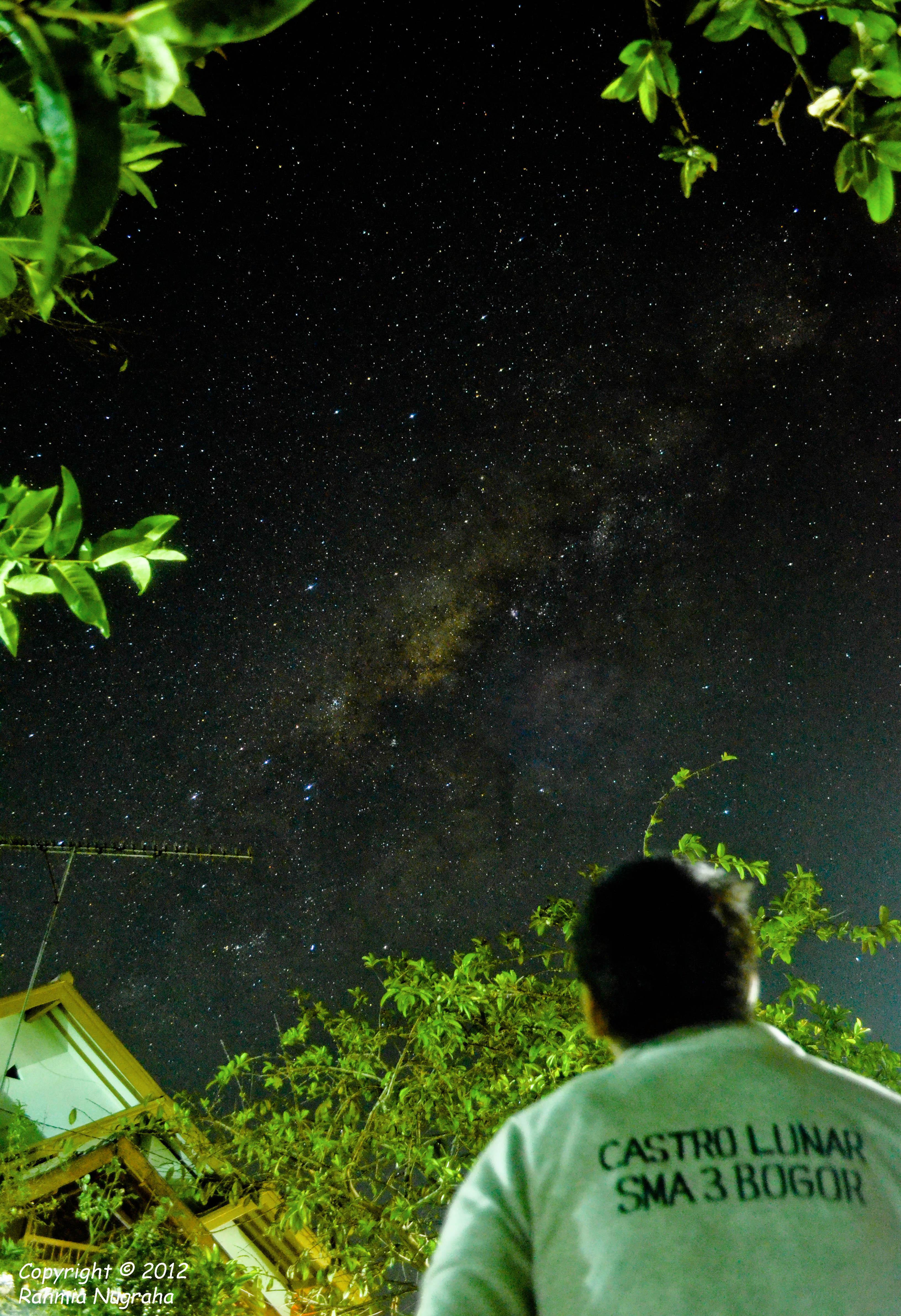 Castro Lunar under the Milky Way