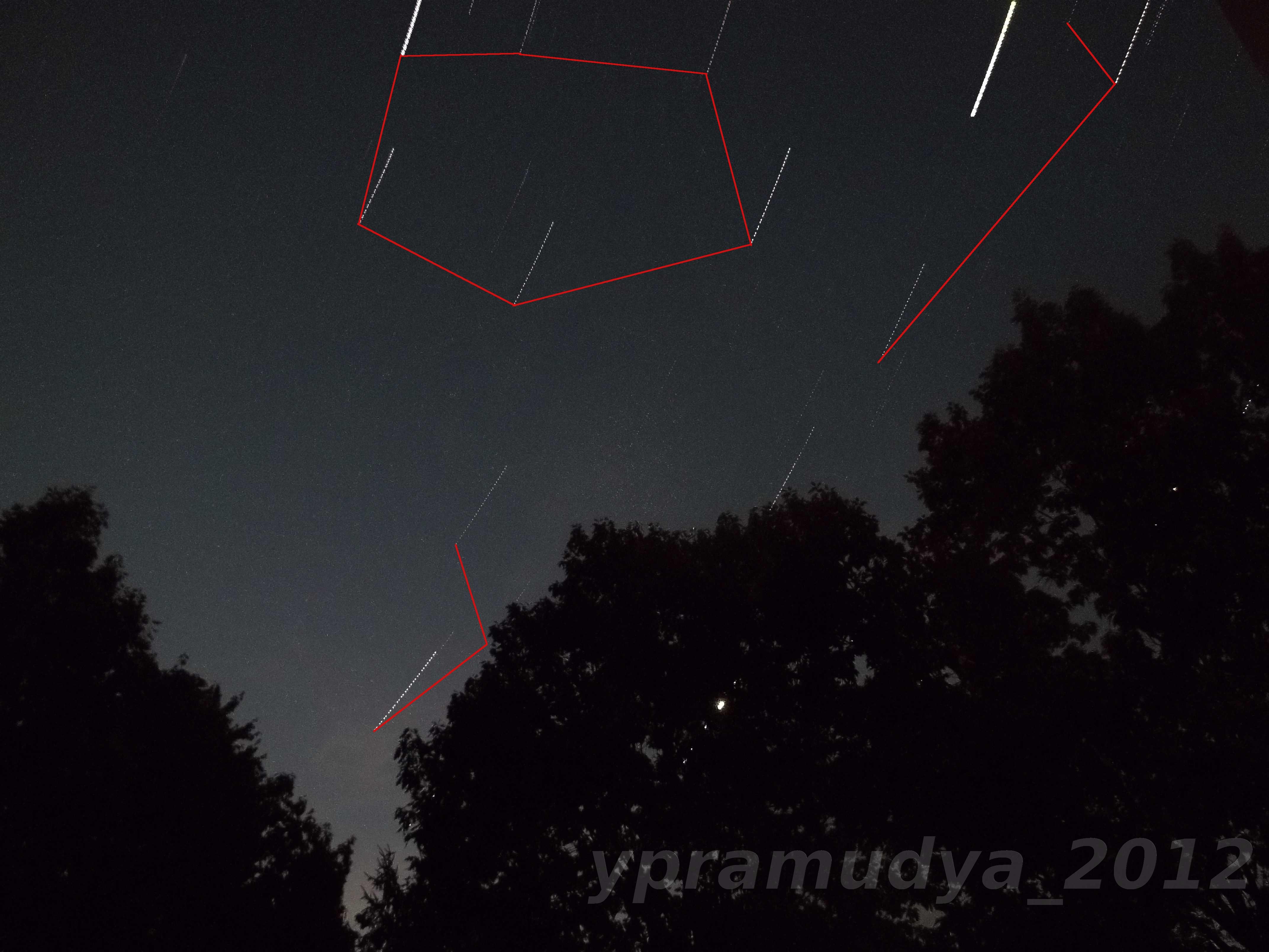 Auriga, Taurus, Gemini, Jupiter, Venus