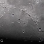 Mare Imbrium – Permukaan bulan yang rata