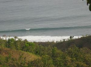Samudera Hindia dilihat dari Pegunungan Karangbolong, Kebumen (Jawa Tengah)