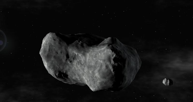 Illustrasi Asteroid oleh ESO.org
