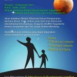 Undangan Observasi Gerhana Bulan Total 10 Desember 2011