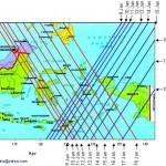 Peta Perlintasan Phobos-Grunt di Atas Indonesia
