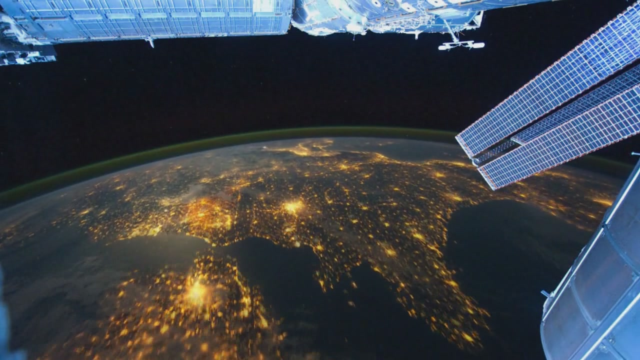 Time Lapse From Space