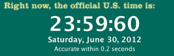 Screencapture dari jam UTC sumber : time.gov