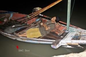 Pengamatan di atas kapal nelayan