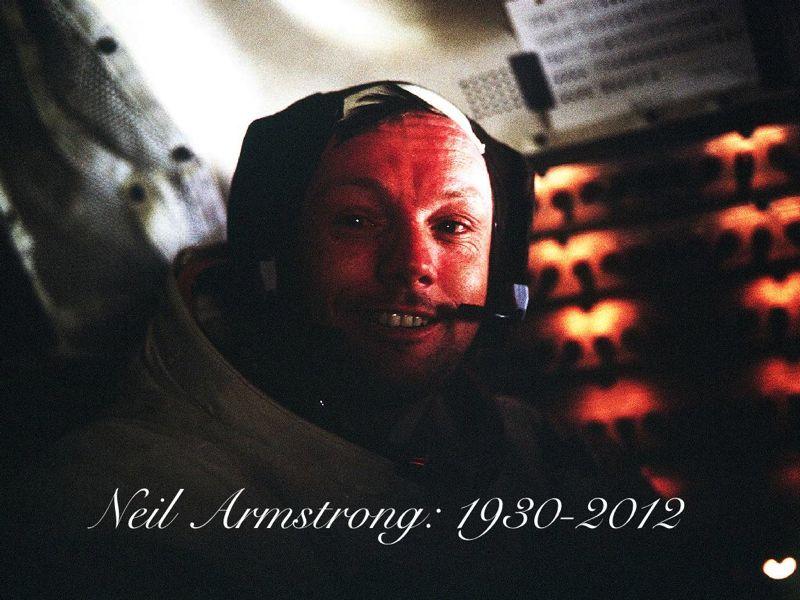 Armstrong didalam lunar modul eagle diatas permukaan bulan. 20 Juli 1969. Selamat Jalan Neil Armstrong. Credit: NASA