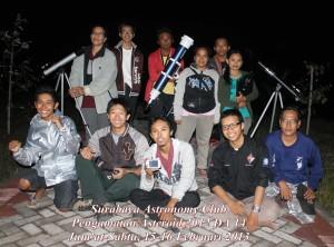 Para punggawa Laskar Teropong yang berhasil menyergap Asteroid 2012 DA14