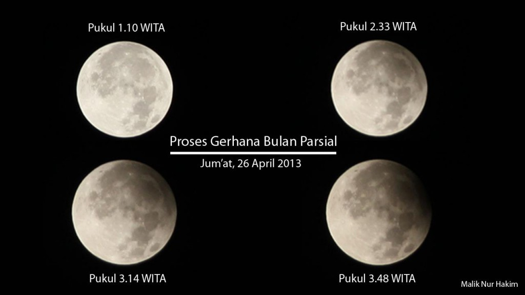 Astrofotografer : Malik Nur Hakim, 2013
