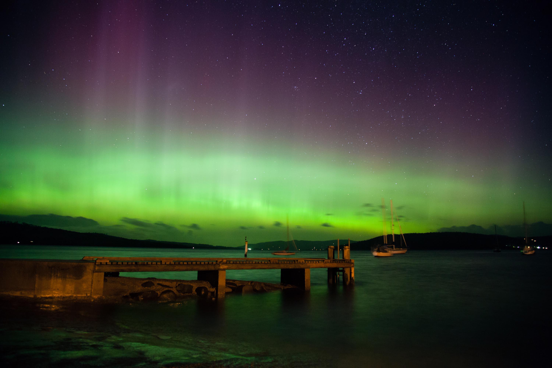 Aurora Australis. Sumber : abc.net.au