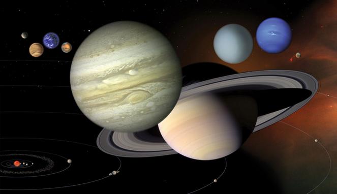 Tata surya. Sumber : NASA.gov