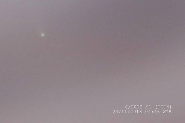 Komet ISON - Juned