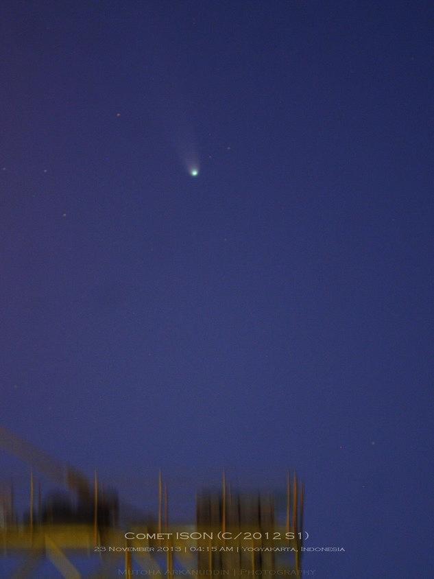Komet ISON - Mutoha Arkanuddin