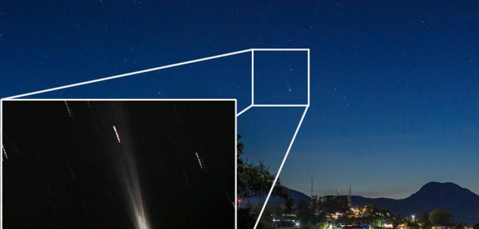 Komet ISON Sudah Terlihat Dari Indonesia
