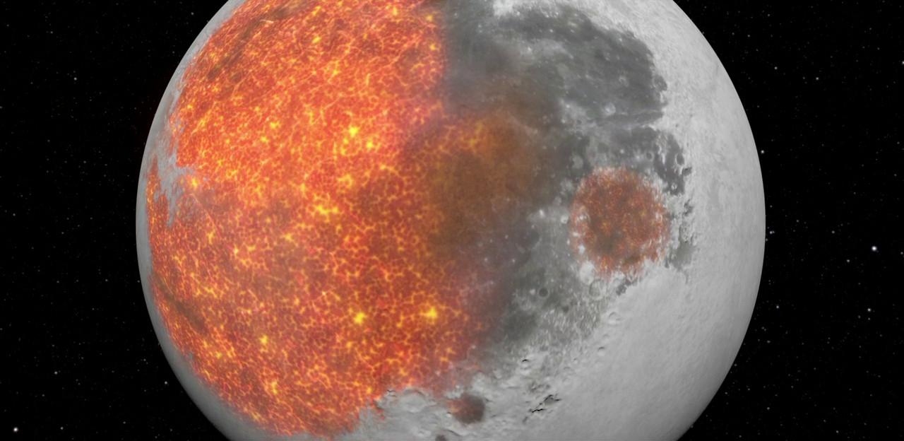 Penciptaan Kawah bulan