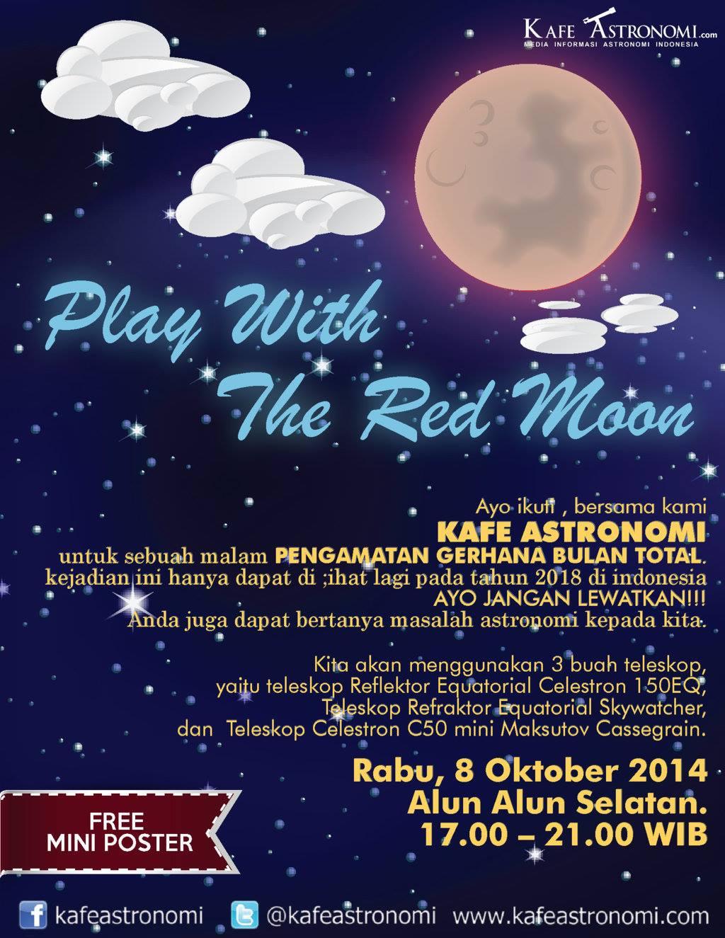 Gerhana Bulan Total 8 Oktober 2014 Kafe Astronomicom