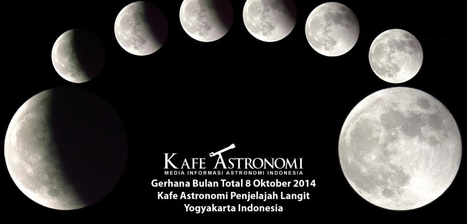 Galeri Foto Gerhana Bulan Total di Indonesia
