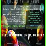 STAR PARTY SMAN 9 Surabaya – Explore The Universe