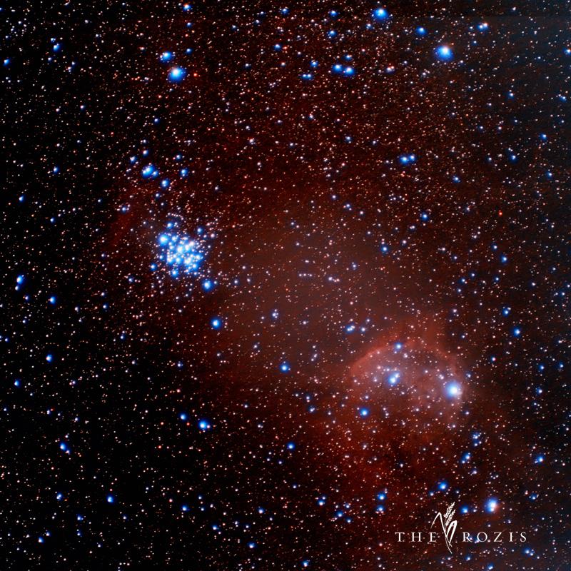 Gugus bintang NGC 3293 dan NGC 3324 merupakan gugus bintang yang terletak di rasi bintang Carina.