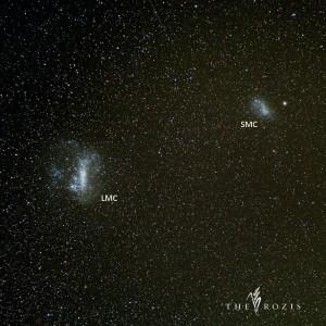 Awan Magellan Besar dan Awan Magellan Kecil. Sumber : Fadli Rozi 2015