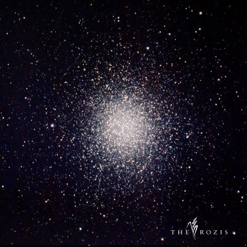 Gugus bintang Omega Centauri di foto oleh Fadli Rozi. Sumber : Fadli Rozi 2015.