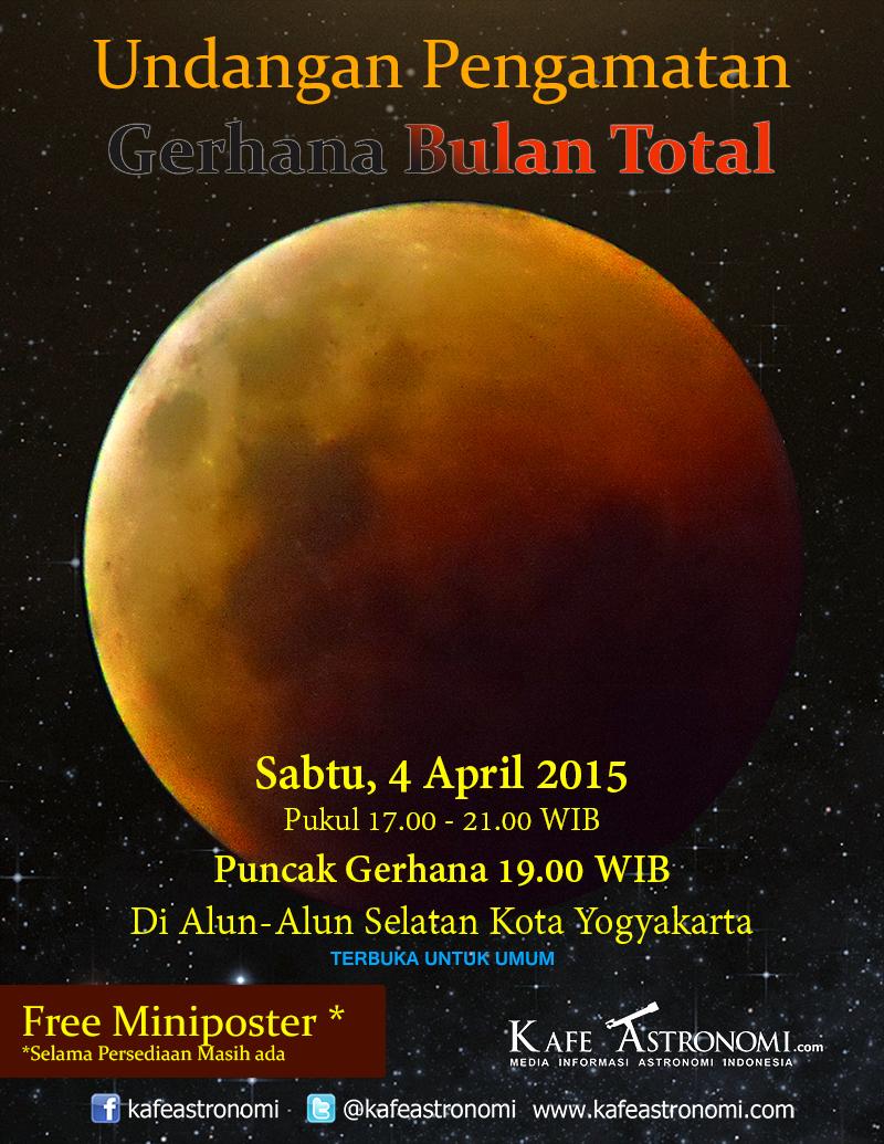 Pengamatan Gerhana Bulan Total