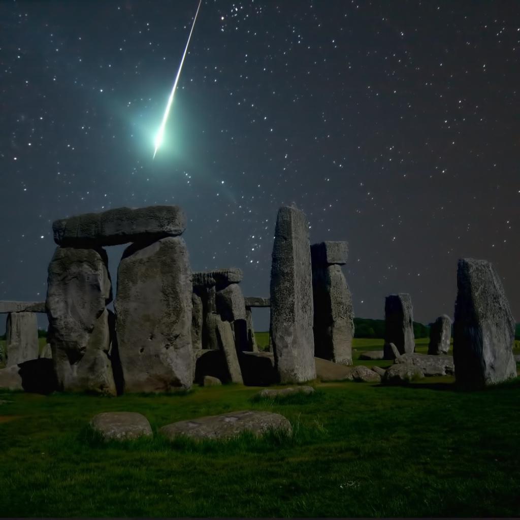Meteor. Sumber : Nol de Ruiter
