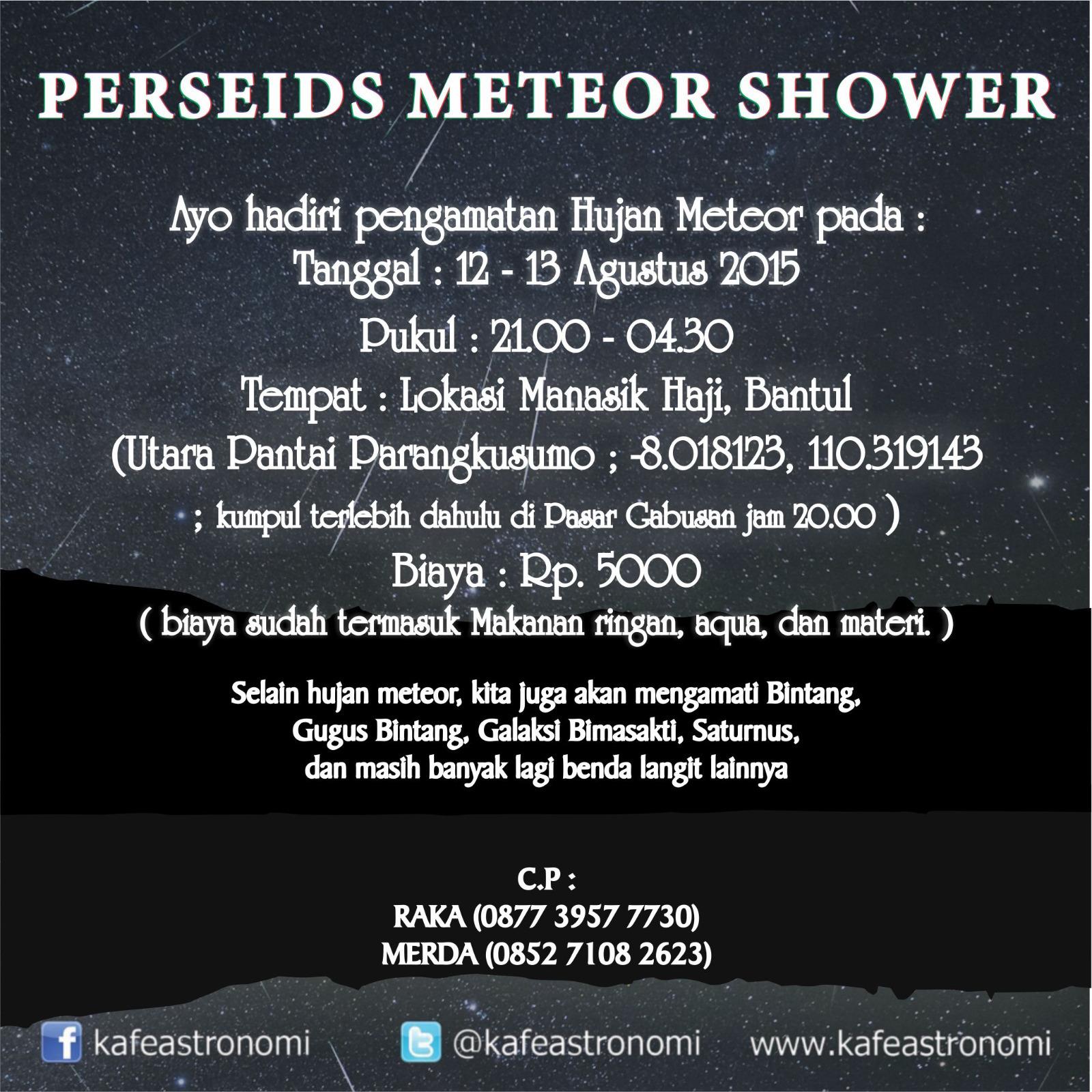 Info Hujan Meteor