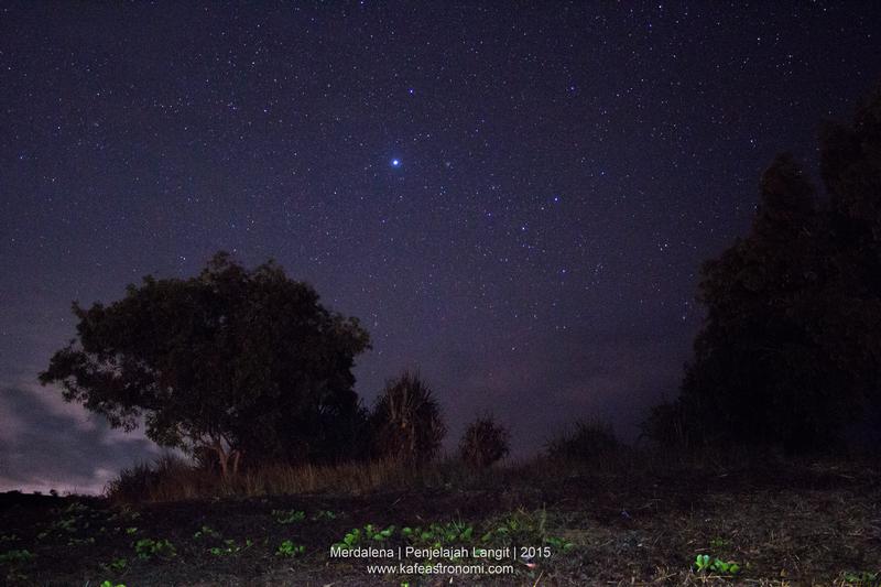 Bintang Sirius. Kredit : Merdalena 2015