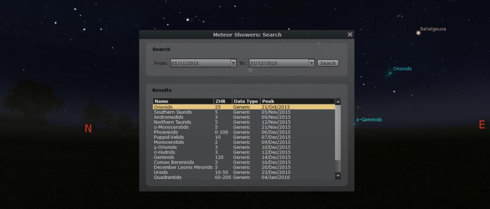 Stellarium 0.14.0 Rilis