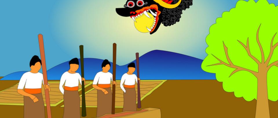 Mitologi Gerhana di Pulau Jawa dan Bali