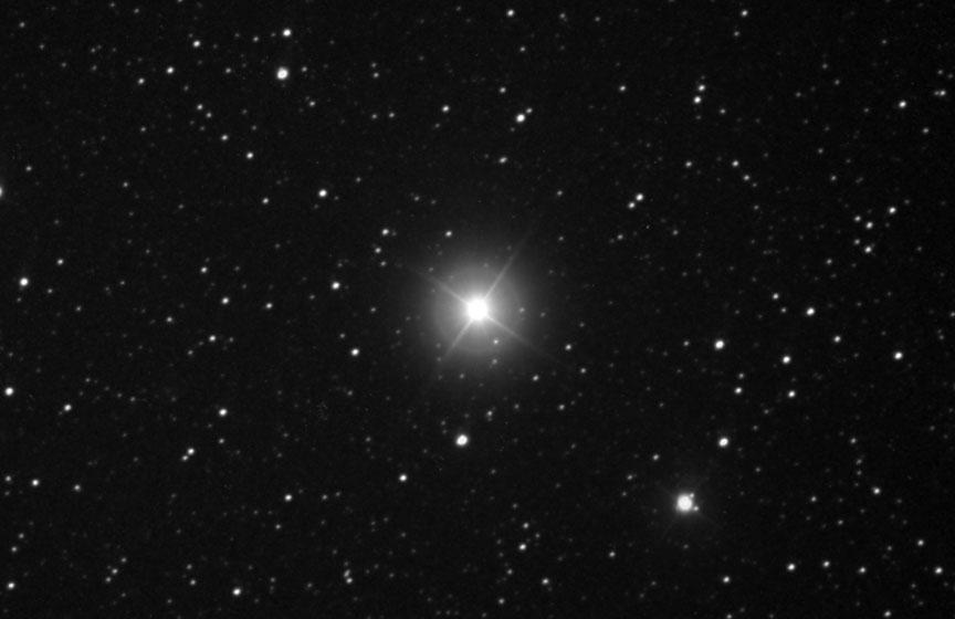Bintang terang yang diidentifikasi sebagai Nova Lupus 2016 berhasil di potret pada 25 september 2016 waktu Australia. Credit: Joseph Brimacombe