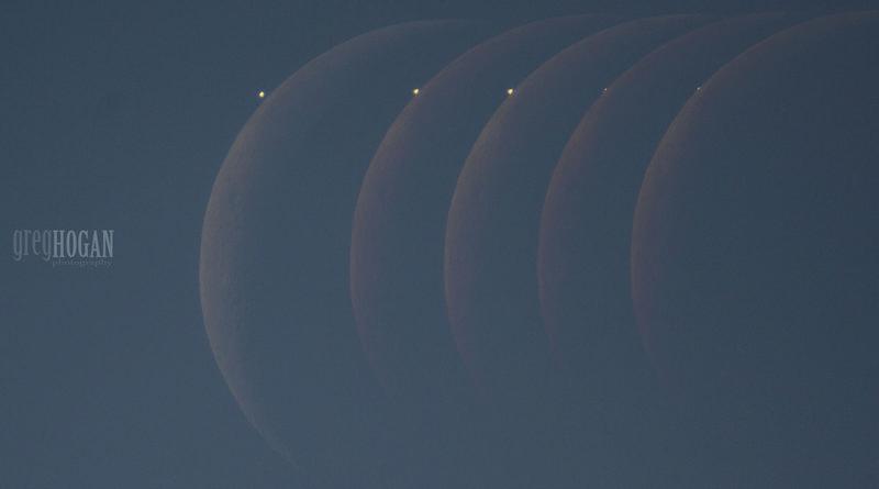 """""""Gerhana"""" Venus 18 September 2017"""