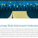 Temukan Klub Astronomi Dikotamu