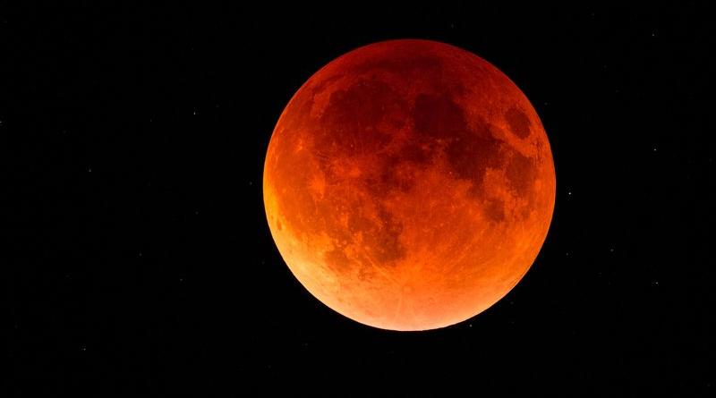 Gerhana Bulan Total 31 Januari 2018