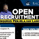 Open Recruitment Pengurus Penjelajah Langit 2018